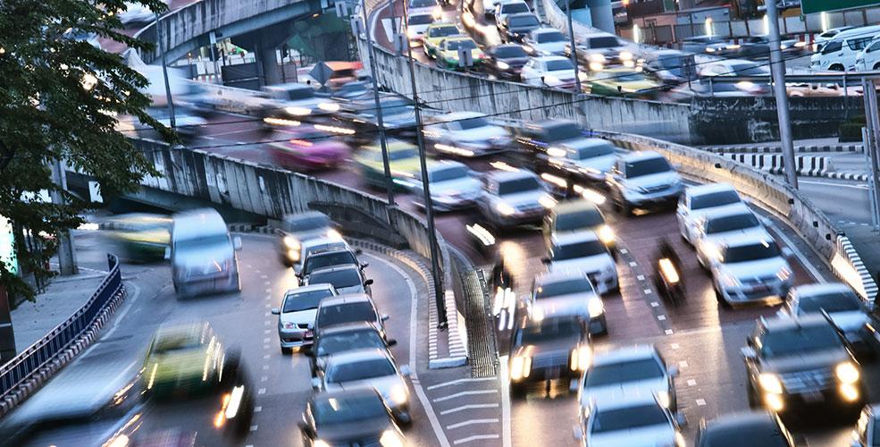 El tráfico, la principal fuente de contaminación acústica